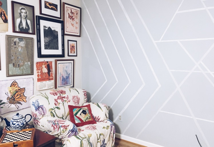 diy chalk wall tutorial