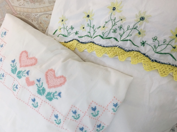 thrifted linens
