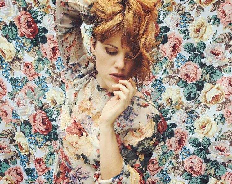 roses, portrait